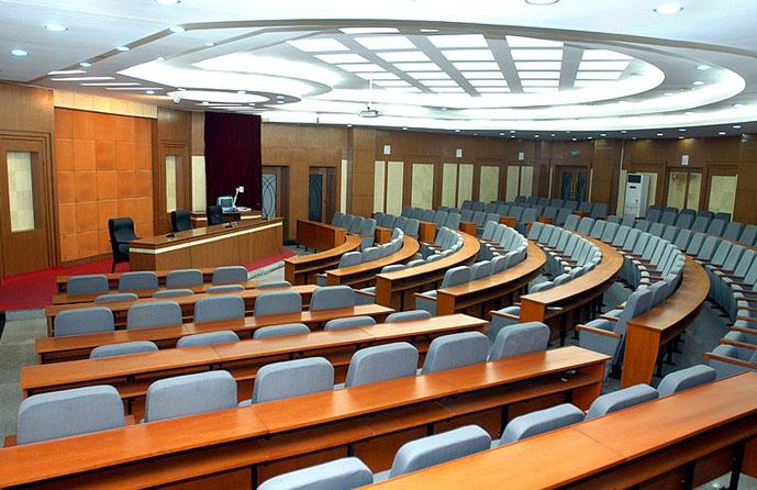 多功能厅会议系统系统解决方案 民用建筑多功能厅与电影院的放央厅有