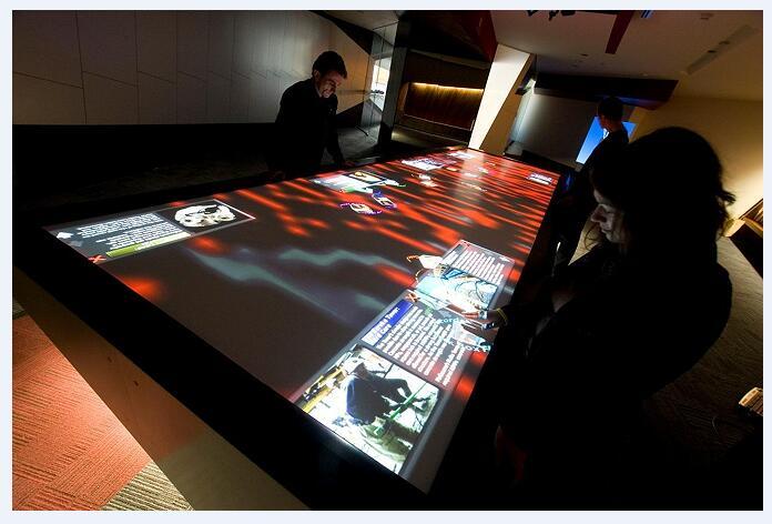 多媒体互动 展厅多媒体设计公司 展示应用案例分析图片